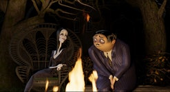 Morticia, Gomez, Wednesday, Pugsley, and Uncle Fester are back with a slew of new adventures in MGM'...
