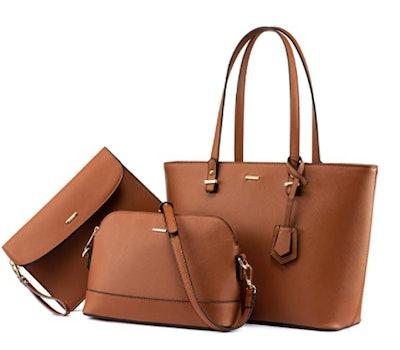 LOVEOOK Handbag Set (3 Pieces)