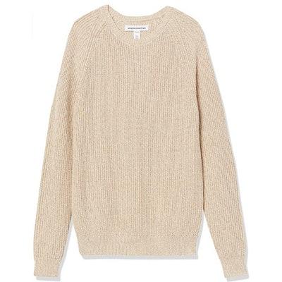 Amazon Essentials Shaker Crew-Neck Sweater