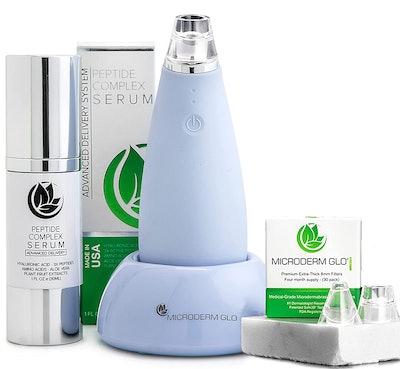 Microderm GLO MINI Diamond Microdermabrasion Skin-Care Bundle