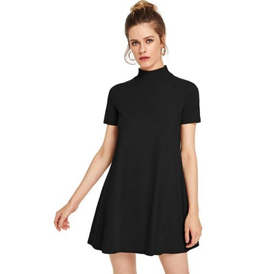 Milumia Mock Neck T Shirt Dress