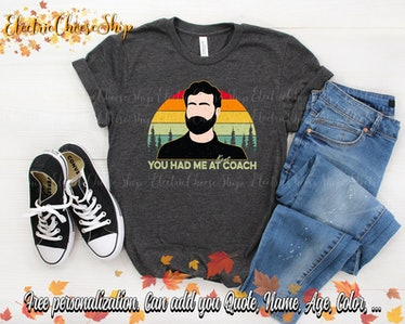 This Roy Kent quote shirt is adorable and one of many 'Ted Lasso' shirts on Etsy.