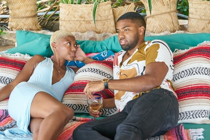 Chelsea Vaughn and Ivan Hall share a moment during Season 7 of 'Bachelor in Paradise