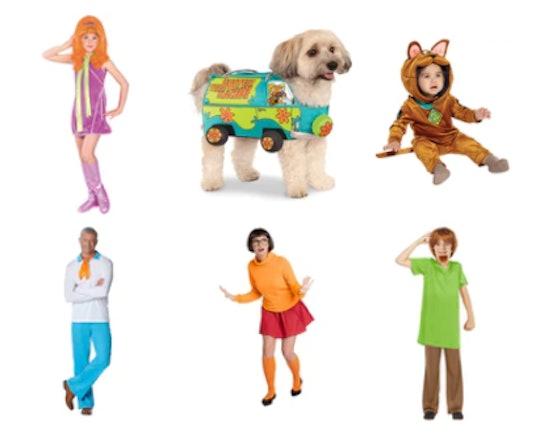 family scooby doo halloween costumes