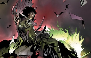 Nightmare sitting atop his throne in Loki Vol. 3 #1