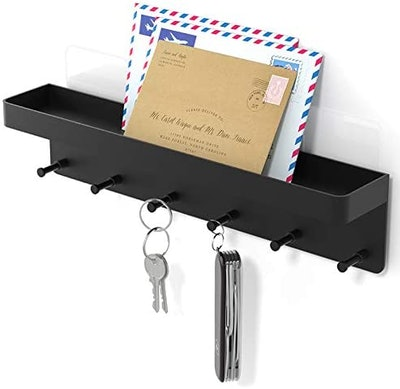 NIFFGAFF Wall Mounted Mail and Key Holder