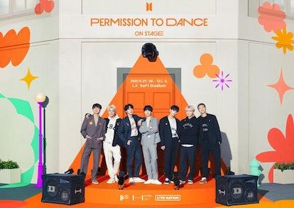 BTS' Permission To Dance On Stage LA Concert Announcement