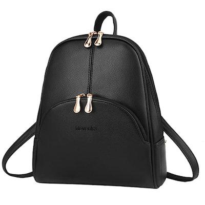 Nevenka PU Leather Backpack Purse