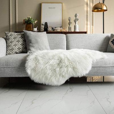 Carvapet Faux Sheepskin Pad