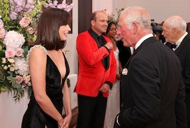 Ana de Armas and Prince Charles