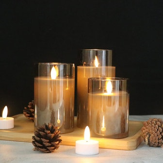 GenSwin LED Candles (Set of 3)