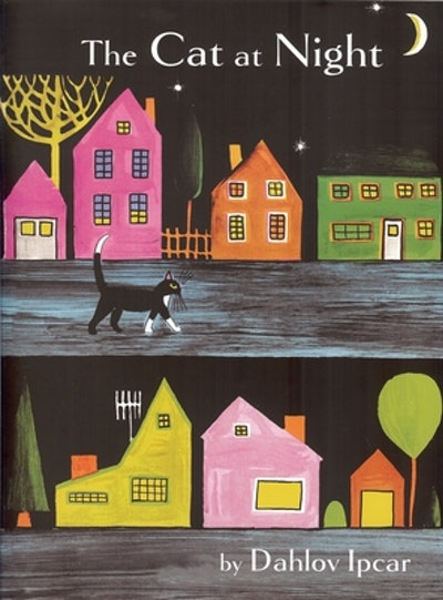 'The Cat at Night' by Dahlov Ipcar