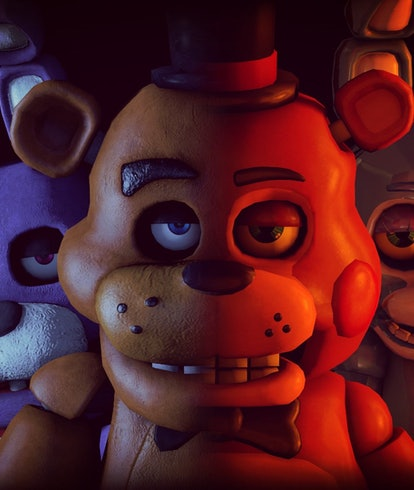 animatronic animals from Five Nights at Freddy's