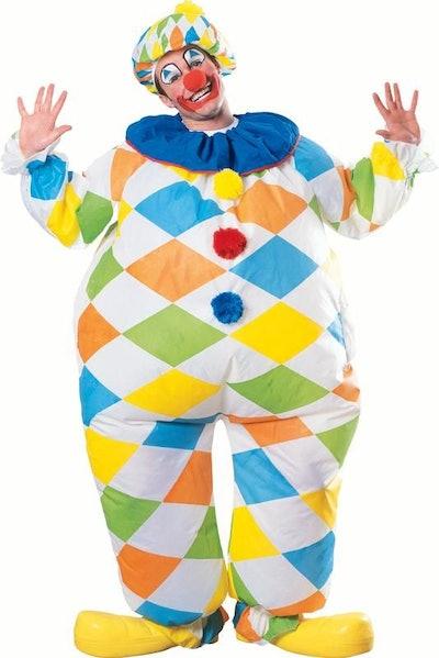 Rubie's Inflatable Fun Clown Adult Halloween Costume