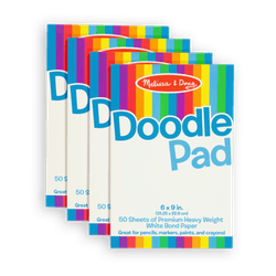 Melissa & Doug Doodle Pad, 4-Pack
