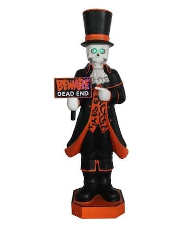 Skeleton butler, 4ft tall; Halloween decor