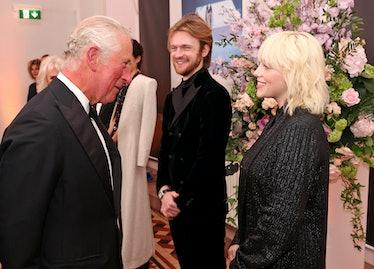 Prince Charles meeting Billie Eilish