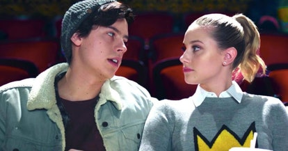 Jughead (Cole Sprouse) and Betty (Lili Reinhart) in Riverdale on The CW.