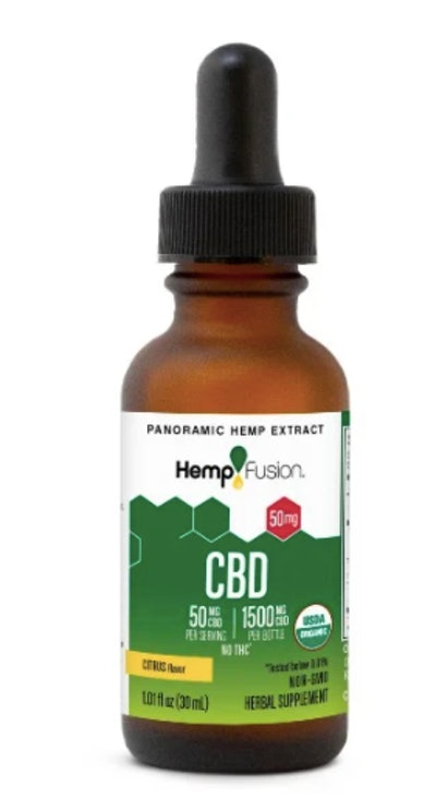 50 mg CBD Oil Tincture in Citrus