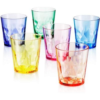 SCANDINOVIA Unbreakable Drinking Glasses (Set of 6)
