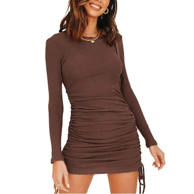 MiiVoo Ruched Bodycon Dress