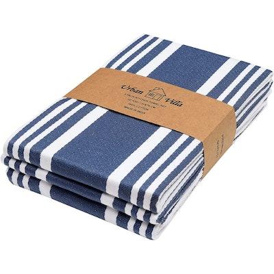 Urban Villa Cotton Dish Towels (Set of 3)