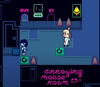 Annoying Mouse Puzzle one Deltarune Chapter 2