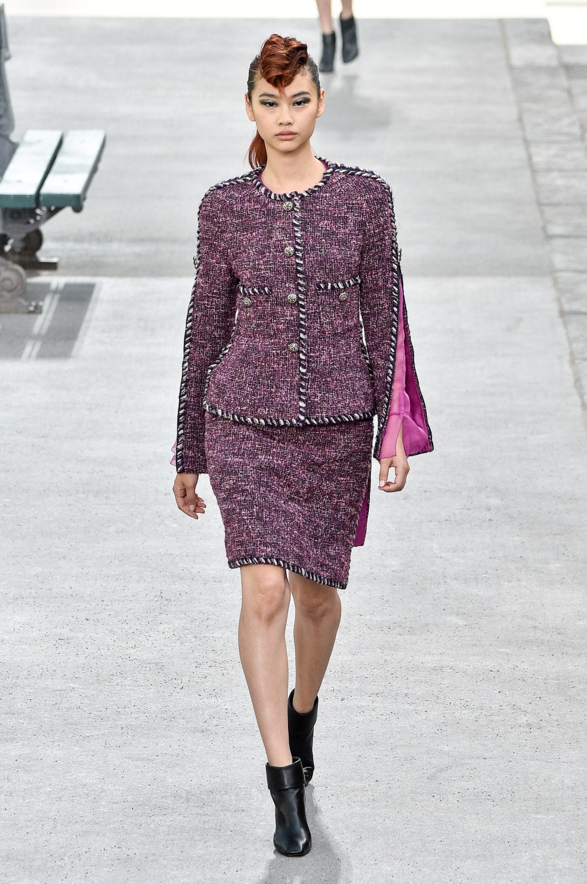 هوئون یونگ در Chanel