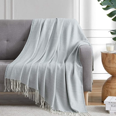Bourina Faux Cashmere Blanket
