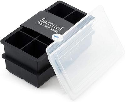 Samuelworld Large Ice Cube Trays (2-Pack)