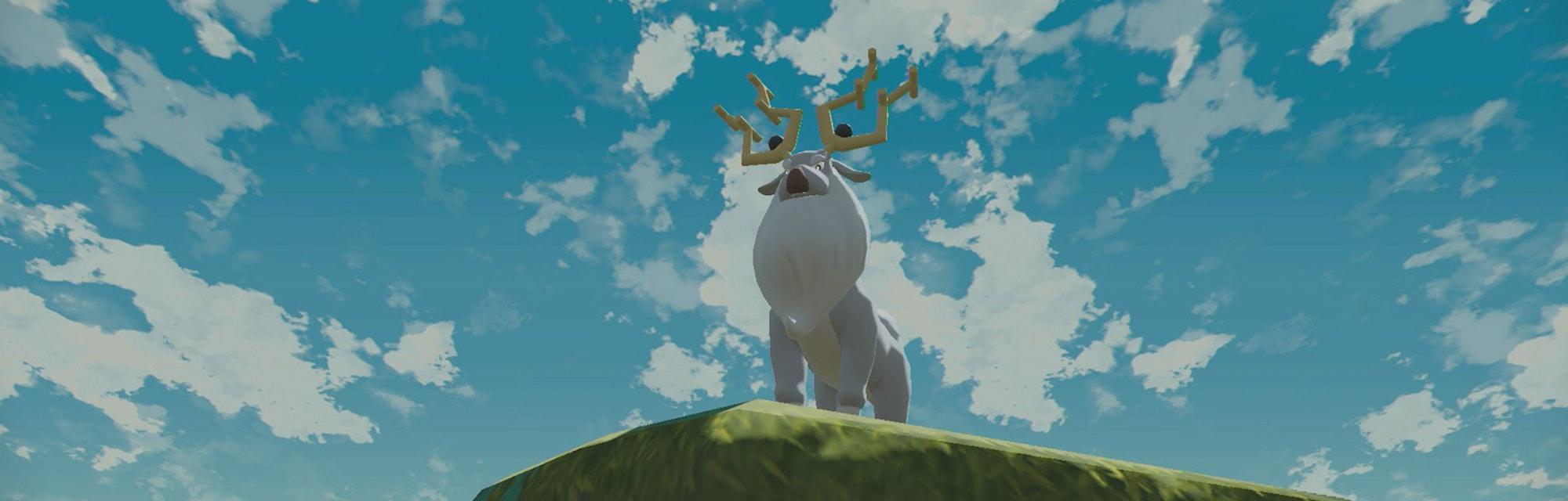 A noble Pokémon in the wild