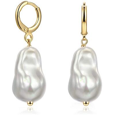 Yorzahar Pearl Dangle Earrings