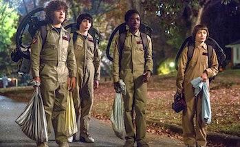 stranger things season 2 ghostbusters costumes