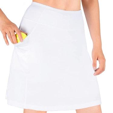 Yogipace Knee Length Skirt  With UV Protection