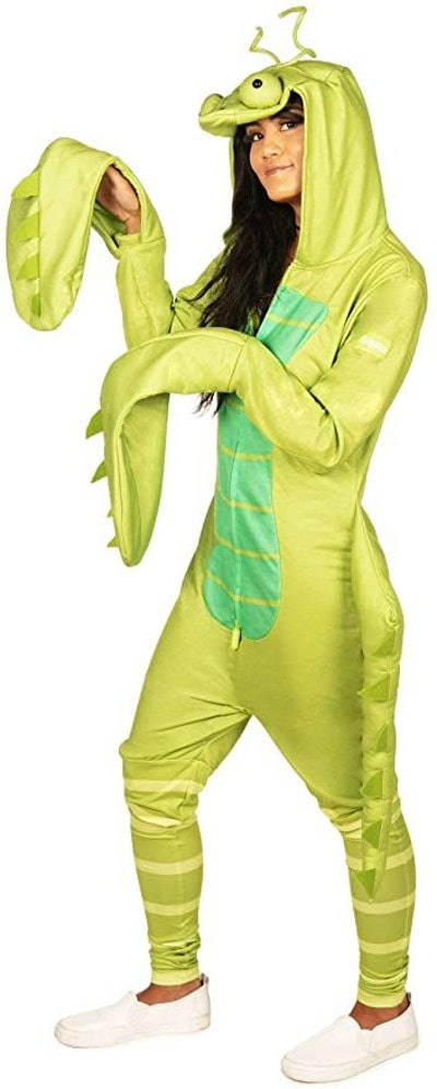 Tipsy Elves' Women's Praying Mantis Costume - Green Insect Halloween Jumpsuit
