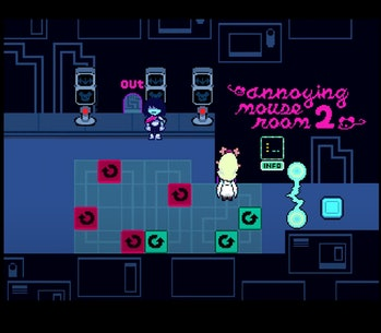 Deltarune Chapter 2 annoying mouse room 2