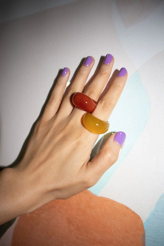 Seree Ring Pop Chunky Agate Ring