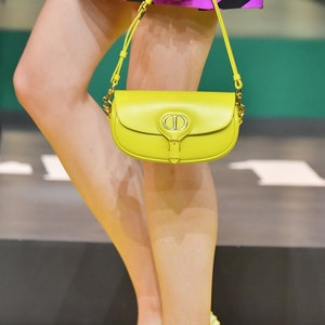 A model ( detail) walks the runway during the Dior Womenswear Spring/Summer 2022 show as part of Par...