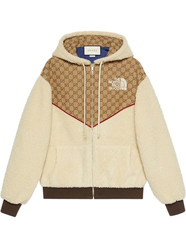 Gucci x The North Face panelled jacket