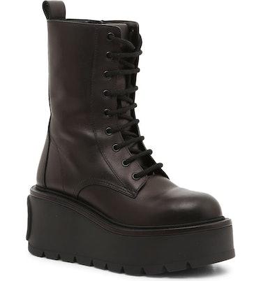 VLOGO Platform Lace-Up Boot Valentino Garavani