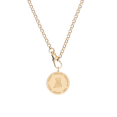 Femme Gold Pendant Necklace Aurate