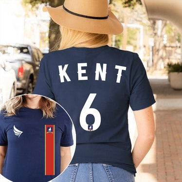 This Roy Kent jersey is just one of the many 'Ted Lasso' shirts you can find on Etsy.