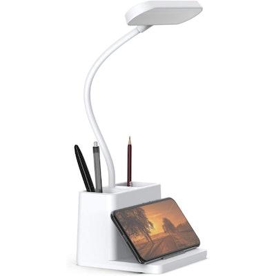 AXX LED Flexible Desk Lamp with Pen Holder