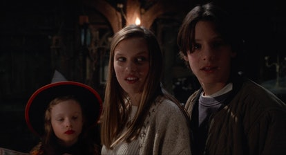I rewatched Hocus Pocus as a mom and Dani, Allison, and Max (pictured) and their late night hijinx h...