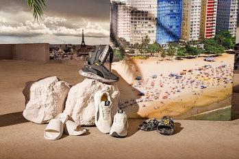 Puma x Neymar Jr. Wild Rider sneakers and Leadcat slides