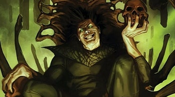 Nightmare delighted by his own presence in Doctor Voodoo: Avenger of the Supernatural Vol. 1 #4