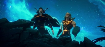 Doctor Strange Supreme and Party Thor teaming up in What If? Episode 9