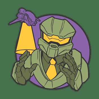 A leaked Halo Infinite emblem