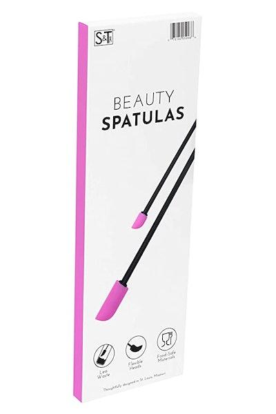 S&T INC. Beauty Spatulas (2-Piece)