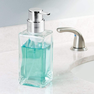 mDesign Refillable Soap Dispensers (Set of 2)